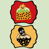 Dessert Halloween Stock Illustratie