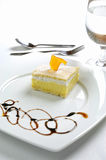Dessert honey cake Royalty Free Stock Image