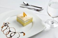 Dessert honey cake Stock Photo