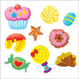 Dessert Icon (white background) Royalty Free Stock Image