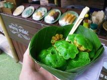 Dessert II de Pandan Photo libre de droits