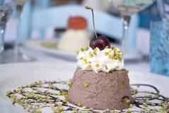 Dessert italiano Fotografia Stock Libera da Diritti