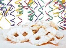 Dessert italiano tipico per il carnevale, fotografie stock libere da diritti