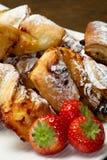 Dessert with jam and raisins Royalty Free Stock Image