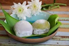 Dessert japonais Photo stock