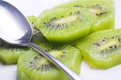 Dessert of kiwi and orange Royalty Free Stock Photos