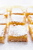 Dessert lemon bars Stock Images