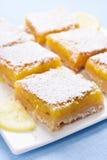 Dessert lemon bars Royalty Free Stock Photo