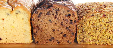 Dessert loaf Stock Photos