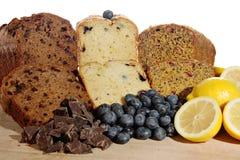 Dessert loaves Stock Photography