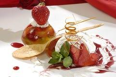 Dessert lussuoso Fotografia Stock