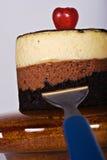 Dessert luxueux de chocolat Photographie stock libre de droits