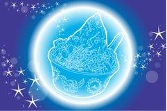 Dessert mélangé par glace Photos libres de droits