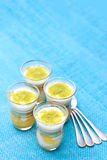 Dessert with mango Stock Images