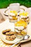 Dessert with mango Stock Images