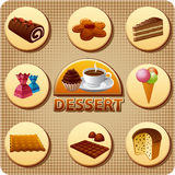 Dessert menu Royalty Free Stock Photos