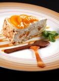 Dessert met mango Royalty-vrije Stock Foto's