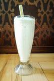 Dessert met vanilleschok stock fotografie