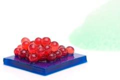 Dessert moléculaire de gastronomie Image libre de droits