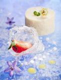 Dessert mousse Royalty Free Stock Photo