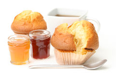 Dessert - muffins Royalty Free Stock Image
