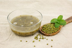 Dessert from mung bean Royalty Free Stock Photos