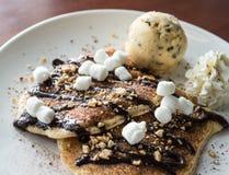 Dessert Pancake Royalty Free Stock Photo