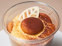 Dessert, pastei, koekjes, snoepjes, teramesu, chocolade Royalty-vrije Stock Afbeelding