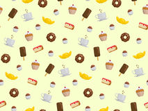 Dessert pattern Royalty Free Stock Photography