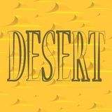 Dessert pattern stock illustration
