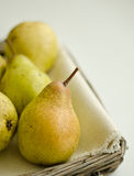 Dessert pears Stock Photo
