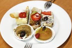 Dessert plate Stock Image