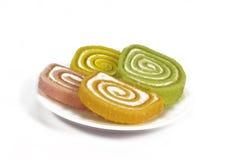 Dessert platter Stock Images