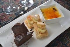 Dessert Platter Stock Image