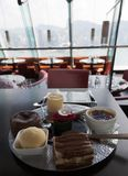 Dessert platter. Kowloon. Hong Kong. Royalty Free Stock Photo