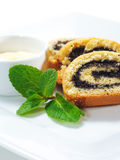 Dessert - Poppy Roll Stock Photography