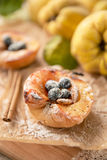 Dessert of quince Royalty Free Stock Image
