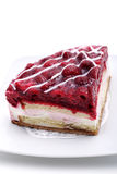 Dessert - Raspberries Cream Royalty Free Stock Image