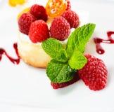 Dessert - Ricotta Cheesecake Stock Image