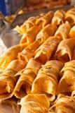 Dessert roll Stock Photography