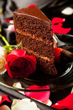 Dessert romantique Photographie stock libre de droits