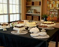 The Dessert Room Stock Photography