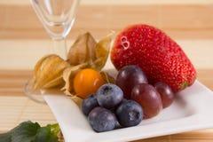 Dessert sain de petit déjeuner Photo libre de droits