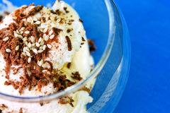 Dessert sain et savoureux Photos stock