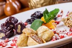 Dessert sec de fruits Image libre de droits