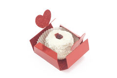 Dessert in small box Stock Photos