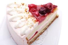Dessert - Strawberries Cake Royalty Free Stock Photos