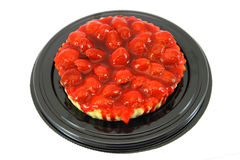 Dessert - strawberry pie Royalty Free Stock Image