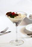 Dessert sulla tabella Immagini Stock