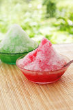 Dessert of summer in Japan Royalty Free Stock Images